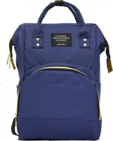 fine living mami backpack navy nappy changing