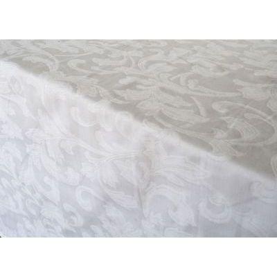 Photo of DSA Paloma Jacquard Damask Tablecloth