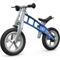 firstbike balance bike street light blue with brake craft supply