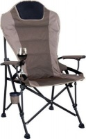 oztrail rv jumbo chair 200kg grey camping