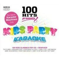 100 hits kids party karaoke cd boxed set