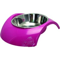 rogz 2 in 1 luna dog bowl feeding