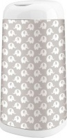 angelcare dress up bin sleeve grey elephant bag