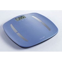 camry electronic bathroom scale blue health product