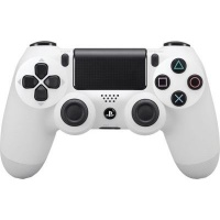 sony playstation dualshock 4 v2 controller white ps4 accessory