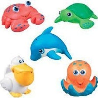 munchkin sea squirts 5 pack bath potty