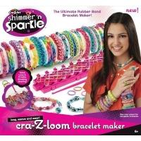 cra z art shimmer n sparkle friendship bracelet maker craft supply