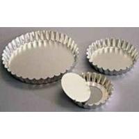 kaiser bakeware quiche fluted loose bottom 10cm silver other kitchen appliance