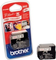 brother m k222 p touch non laminated tape red on white labeling system