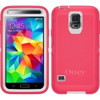 otterbox defender case for samsung galaxy s5 neon rose