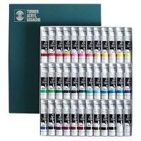 turner acrylic gouache paint 20ml 36 colour set art supply