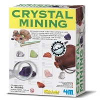4m crystal mining kit learning toy