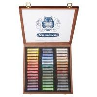 schmincke soft pastel wooden case set of 45 art supply