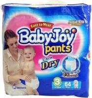 babyjoy pants size 3 7 12kg jumbo pack 64 nappies bag