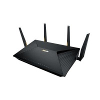 asus brt ac828 dual band wireless router black networking