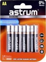 astrum aab006 lr06 long life alkaline aa pack of 4 battery