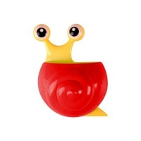 snail toothbrush holder red bathroom accessory