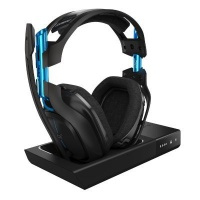 logitech astro a50 wireless gaming headset with base computer