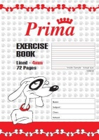 prima scholastic lined exercise book a4 4mm 72 pages other