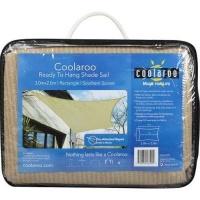 coolaroo ready hang shade sail 2x3 rectangle pools hot tubs sauna