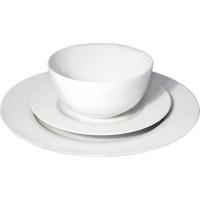 eetrite just white rim porcelain dinner set 12 piece water coolers filter