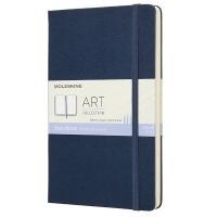 sapphire moleskine art collection sketchbook 165gsm hard art supply