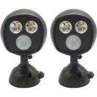 Lumina Ultra Bright Motion Sensor Security Spot Light 2 Pack