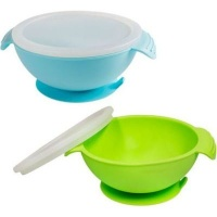 napps silicone baby suction feeding bowls and 2 pack feeding