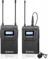 boya by wm8 pro k1 uhf dual channel wireless microphone media player accessory