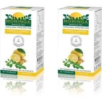 moringa tea lemon and ginger infusion x 2 health product