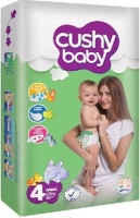 cushy baby stage 4 nappies maxi 8 19kg 18 months jumbo bag