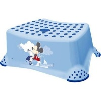 disney baby mickey mouse step stool with anti slip function bath potty