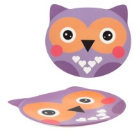 Pylones Owl Plate