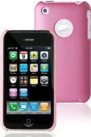 moshi iglaze shell case for iphone 3g and 3gs pink cellular accessory