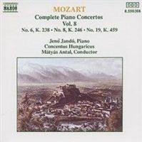 complete piano concertos vol8 mozart music cd