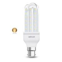 astrum b22 k070 led corn light 7w warm white light bulb