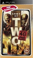 army of two the 40th day psp umd video other game
