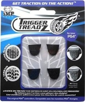 trigger treadz ps4 grips 4 pack black ps4 accessory