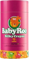 jarmelo baby roo silky washable crayons 12 colours art supply