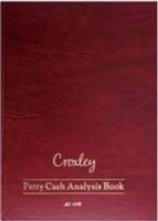 croxley jd478 a4 analysis book petty cash 144 pages other