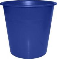 bantex b9825 waste paper bin 10l blue school supply