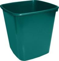bantex b9820 waste paper bin 20l green school supply