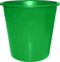 bantex b9825 waste paper bin 10l green school supply