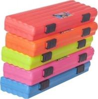 bantex mccasey 2 pp pencil case assorted colours office machine