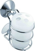 wildberry suction cup toothbrush holder bathroom accessory