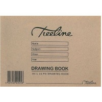treeline landscape soft cover drawing book a4 24 pages of other