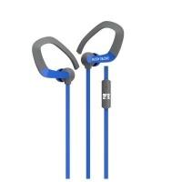 body glove extreme earclip headphones blue headphone