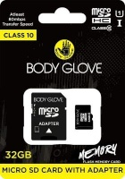 body glove microsd card with adapter class 10 32gb camera filter