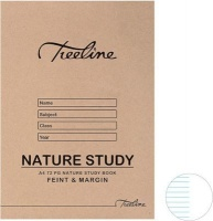 treeline nature study book a4 72 pages pack of 20 office machine