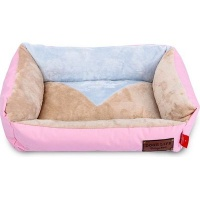 dogs life vintage lounger waterproof winter bed pink bed